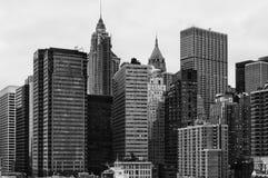New York Financial District Skyline Stock Photos