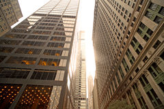 New York finanziaria Fotografia Stock