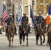 New York 2015 firar Israel Parade Arkivfoto
