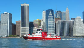 New York Fire Department vessel Royalty Free Stock Photos