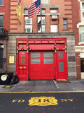 New York Fire House Stock Images