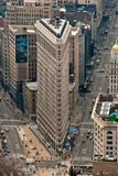 New York Flat Iron Building. A view of the Flat Iron building in New York City Stock Image