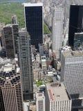 New York flyg- sikt royaltyfri bild