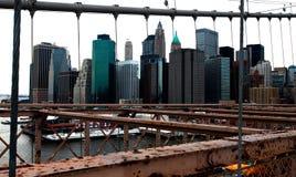 New York Framed Stock Photography