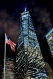 New York Freedom Tower Royaltyfri Fotografi