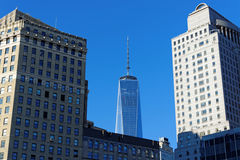 New York. Freedom tower in new york city Stock Image