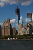 New York Freedom Tower konstruktion Royaltyfria Foton