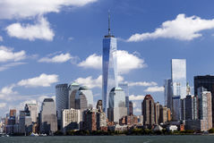 NEW YORK - Freedom Tower in Lower Manhattan Stock Photography