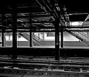 New York gångtunnel Arkivbild