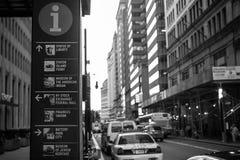 New York gata Fotografering för Bildbyråer