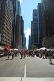 New York gatamarknad Royaltyfri Bild