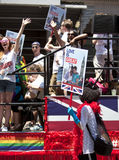 New York Gay Pride March Royalty Free Stock Images