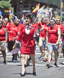 New York Gay Pride March Royalty Free Stock Image