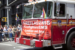 New York Gay Pride March Stock Photography
