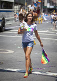 New York Gay Pride March Stock Photo