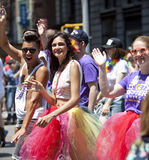 New York Gay Pride March Stock Photos