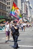 New York Gay Pride March Royalty Free Stock Photography