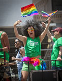 New York Gay Pride March Royalty Free Stock Photos