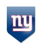 New York Giants Στοκ φωτογραφία με δικαίωμα ελεύθερης χρήσης