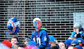 New York Giants Fans Stock Image