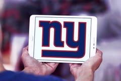 New York Giants futbolu amerykańskiego drużyny logo obraz stock