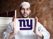 New York Giants futbolu amerykańskiego drużyny logo zdjęcia stock