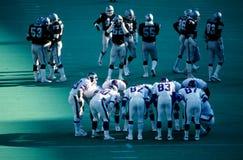 New York Giants Huddle Stock Image