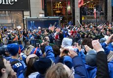 New York Giants Victory Parade stock photos