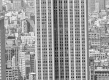 NEW YORK - 9 GIUGNO 2013: Vista aerea dei grattacieli di Midtown Fotografie Stock Libere da Diritti