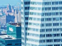 NEW YORK - 9 GIUGNO 2013: Vista aerea dei grattacieli di Midtown Fotografia Stock Libera da Diritti
