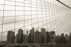 New York On Gloomy Day Royalty Free Stock Image