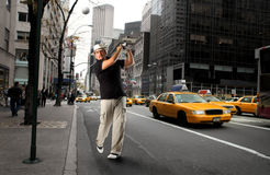 New york golf Stock Photography