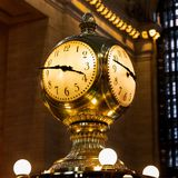 New York - The Grand Central Terminal Clock royalty free stock photography