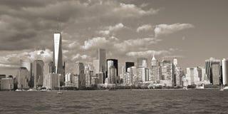 New York groot van de watertaxi royalty-vrije stock foto