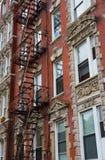 New York - Gusseisenfassaden in SoHo Lizenzfreie Stockfotografie