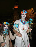 New York Halloween Parade Stock Images