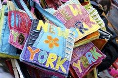 New York handväskor Arkivfoton