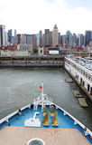 New York  harbor Royalty Free Stock Photography