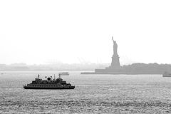New York Harbor Royalty Free Stock Image
