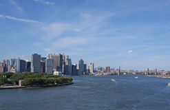 New York Harbor Royalty Free Stock Images