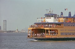 New York Harbor Ferry USA Stock Photos