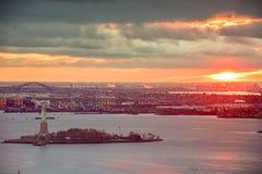 Free New York Harbor, New York, USA Stock Images - 196069394