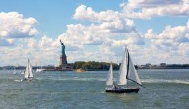 New York Harbor Scene Royalty Free Stock Image