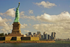 New York Harbour Royalty Free Stock Photography