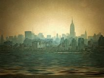 New York Harbour Stock Photography