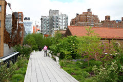 New York high line Royalty Free Stock Photography