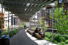 New York high line Stock Images