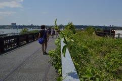 New York Highline Photos libres de droits