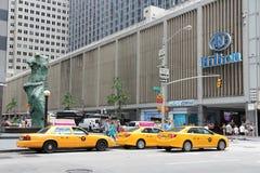 New York Hilton arkivbilder