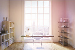 New York home office interior Royalty Free Stock Image
